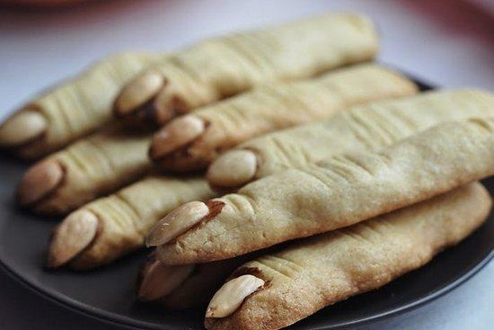 печенье на хэллоуин рецепт пальцы ведьмы с шоколадом