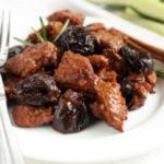 Говядина с черносливом тушеная вкусные рецепты