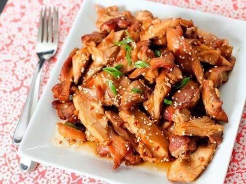 Курица с соусом терияки рецепт пошагово